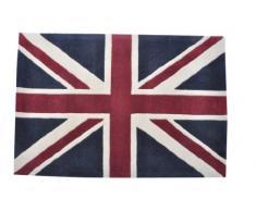 Woven Magia 122 x 92 cm, 48 x 36 cm con lana, cotone, moquette inferiore Lon101D Londra Anatra patriottica