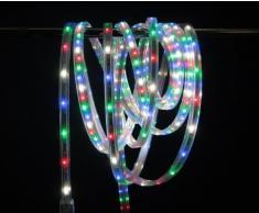 Giocoplast Natale 167 10955 Tape Light Multi con Giochi Luce, 6 Metri, 360 LED
