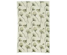Zaida, 1 pezzo, 150 x 90 cm di lana, cotone, mucca prezzemolo Moquette, Verde