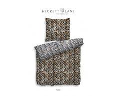 Heckett Lane Twill Biancheria da Letto Rabat 155 x 220 (80 x 80) Multi