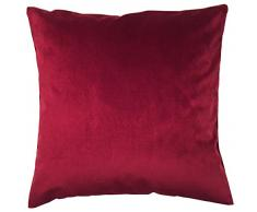 Home Fashion 66556 – 156 Bordeaux H: 40 x B: 40 cm Velluto Cuscino French Velvet