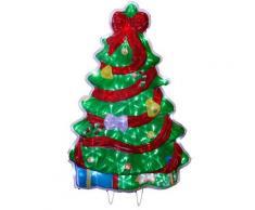 STAR 810 – 04 40 Luci Silhouette Albero di Natale LED bianco freddo