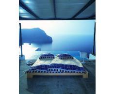 Bassetti Oplontis V9 9236937 biancheria da letto, 135 x 200 x 0,5 cm, colore: azzurro satinato