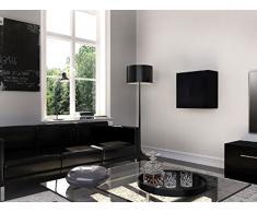 Homemania Theta Design by Armadio, Armadio Graz, Corpo: Bianco Opaco, Fronte: Bianco Lucido PVC