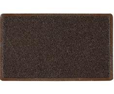 ID opaco 9015010 itinerario Tappeto Zerbino in fibra, in vinile, colore: marrone, 150 x 90 x 1,10 cm