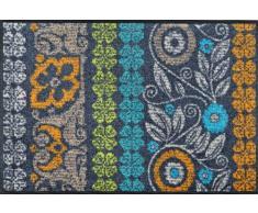 Wash+Dry - Zerbino, modello Stencil Pattern 50 x 75 cm multicolore