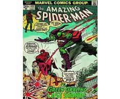 Spider-Man 60 x 80 cm Tela Stampa Green Goblin