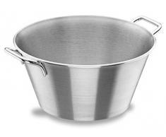 Lacor 50832 - Ciotola rotonda da cucina, con manici, 32 cm