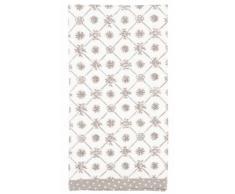 Clayre & Eef MXP43G Mixed Patterns tovaglioli Tessuto tovagliolo grigio Set di 6 circa 40 x 40 cm