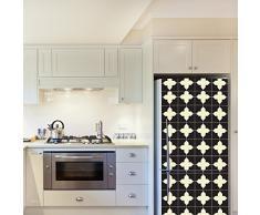 WALPLUS – Adesivi da Parete Attraversa Pattern 4 Confezioni Frigo Decorazioni Rimovibile Adesivi Decalcomanie Arte Salotto Cucina mobili Arredamento Decorazione per la casa, ristoranti, Hotel