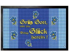 1art1 Case - Grüß Gott, Tritt Ein, Bring Glück Herein Zerbino (60 x 40cm)