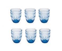 Villa DEste Home Tivoli 2191037 Set Bicchieri Acqua, Vetro