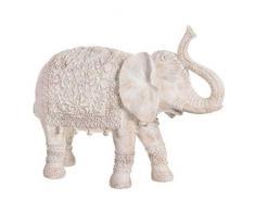 Dcasa Figura Elefante Decorazioni mobili Adesivi Decorazione della Casa Unisex Adulto, Colore Unico