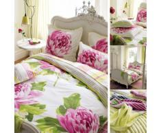 Guild Designesr D68 3749501 104698 8aa821 dgd Charlotte-Set di biancheria da letto 135 x 200 cm, in cotone, colore: rosa