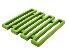 ZAK Designs 1526-0900E, Sottopiatto in melamina, Colore: Verde