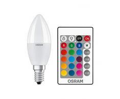 OSRAM LEDSCLB40REM 5.5W/827 230VFR E14FS1OSRAM - Lampade a LED, 5 W, smerigliate