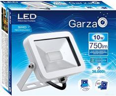 Garza iSpot Faretto Esterno LED Proiettore E27, 10Â W, Blu
