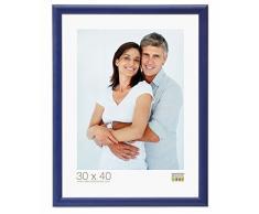 Promo Ideale Cornici In Legno, Molte Dimensioni e Colori, Cornice Foto - Blu, 40x50
