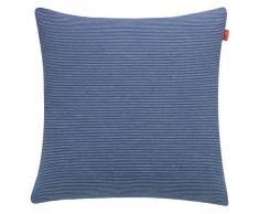 Esprit Home 21455-081-38-38 - Federa per cuscino Needlestripe Gre, 38 x 38 cm, blu