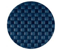 Saleen 01013218101 tovaglietta, diametro 36 cm, tondo, blu cobalto