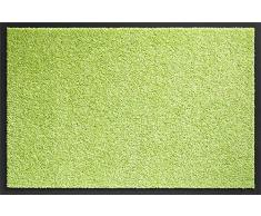 ID Opaco 406014Â Mirande Tappeto Zerbino Fibre Nylon/PVC gommata Verde Vivace 60Â x 40Â x 0,9Â cm