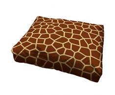 Zanvic - Cuccia per Cani, Motivo: Giraffa, 50 x 70 cm