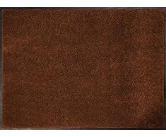 ID Opaco C9014010 Confor Tappeto Zerbino in Fibra di Nylon, caucciù, Nitrile, Colore: Marrone, Marrone, 90 x 140 cm
