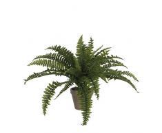 Mica Decorations 930430 T pianta artificiale, in plastica, 70 x 70 x 45 cm, colore: verde