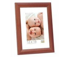 Deknudt Frames Promo Ideale Cornici In Legno, Molte Dimensioni e Colori, Cornice Foto - Marrone, 40x50