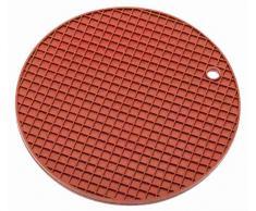 Sambonet Gadgets Presina e Sottopentola, Silicone, Rosso, 20.5x20.5x0.9 cm