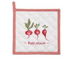 Clayre & Eef PPL45 - Presina da Cucina in Cotone, Colore: Rosso
