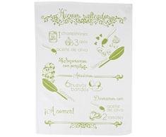 MI CASA - Strofinaccio da Cucina per Uova cotte, Colore: Verde