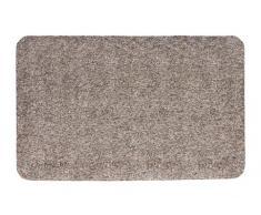 Andiamo Zerbino Samson tinta unita, lavabile in lavatrice a 30 gradi, Cotone, granito, 40x60