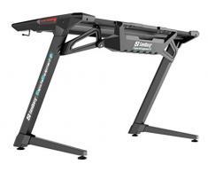 Sandberg Fighter Gaming Desk 2, Black scrivania per Computer Nero