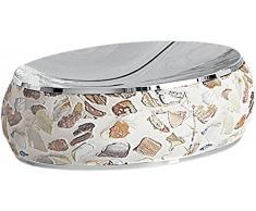Gedy Marina Portasapone, Ceramica, Beige, 10Â x 14Â x 3,9