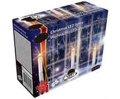 Regali di Natale Natale luci 48708 a 240 LED bianco