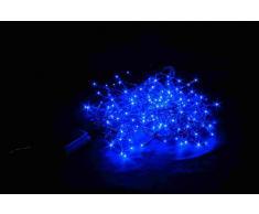 Giocoplast Natale 143 9667 Set di 192 LED per Esterno, Blu