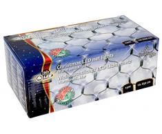 Christmas Gifts 48654-Ghirlanda di Natale con inserto 160 LED, colore: bianco