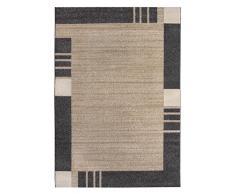 Andiamo tappeto bordo Grasse Web Tappeto Passatoia, sabbia, 60 x 110 cm