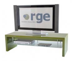 RGE Designs - Mobile per TV e Display Multi-Media, 140 x 48 x 40 cm, Colore: Verde