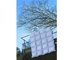 Dana Dream Classic Warm sintetico piumini, biancheria da letto, Danimarca, Premium, di alta qualità, 100% cotone TC233, bianco, 225 x 220