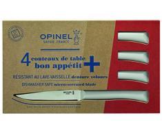 Opinel Coltello da tavola Set di Bon Appetit +, Grigio Chiaro Set di coltelli Bon Appetit +, Grigio Chiaro, Blu, M, 1012384410