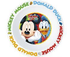 Unbranded 8011148Â Topolino Colori Microonde bowl-plastic/polipropilene 16,5Â cm, Multicolore