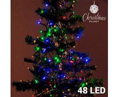 Bigbuy Christmas Luci di Natale Multiodore, Taglia Unica