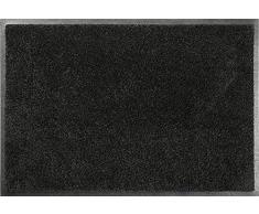 ID Opaco C12018020 Confor Tappeto Zerbino in Fibra di Nylon, caucciù, Nitrile, Colore: Nero, Nero, 40 x 60 cm