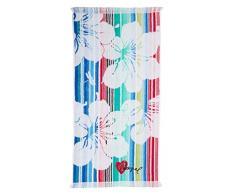 Desigual Blue Summer Asciugamano da Bagno Jacquard, 5013 Turquesa (Blu), 150 x 95 x 5 cm