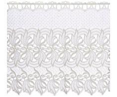 Plauener Spitze by Modespitze, Tendina decorativa, altezza 60 cm, Bianco (creme), larghezza: 144 cm