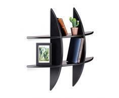 Mensole Da Parete Per Lettore Dvd : Mensole design color nero da acquistare online su livingo