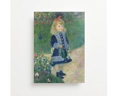 Vinyl Revolution Auguste Renoirs A Girl with A Annaffiatoio (1876) Stampa Giclée