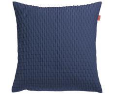 Esprit Home, Federa Beat per cuscino, 38 x 38 cm, Blu (Blau)